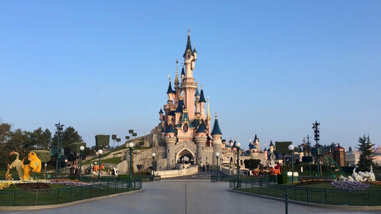Castillo de Disneyland Paris