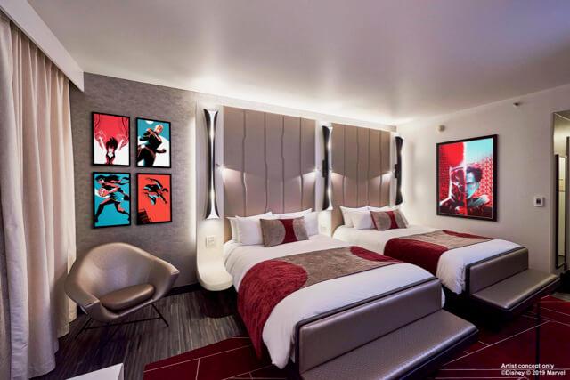 Habitación del Hotel New York The Art of Marvel