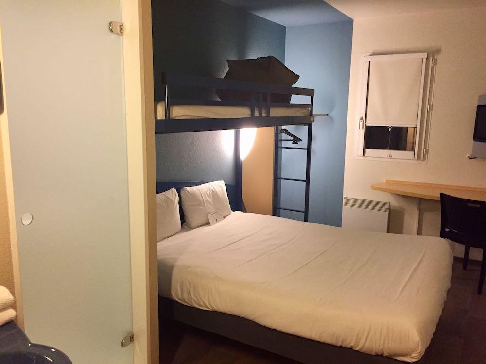 Habitación del hotel Ibis Budget Val d'Europe