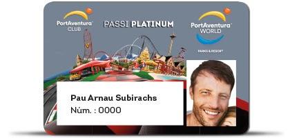 Pase anual Platinum de PortAventura World