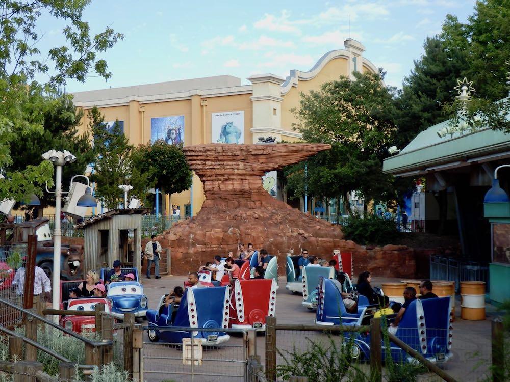 Cars Quatre Roues Rally en Walt Disney Studios de Disneyland Paris