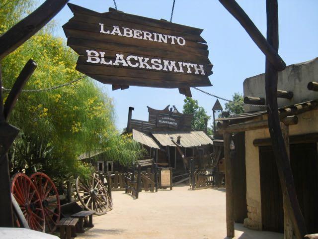 Laberinto Blacksmith en Far West de PortAventura