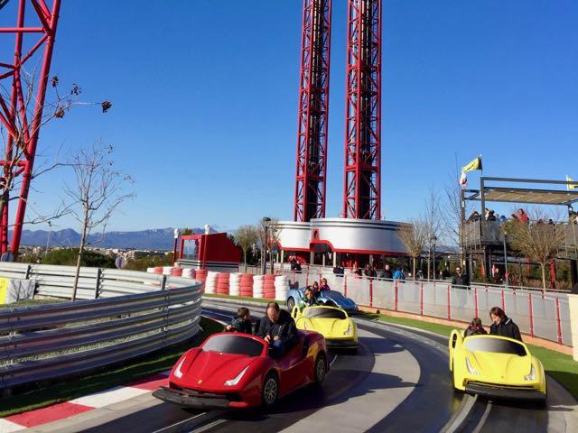 Maranello Grand Race en Ferrari Land de PortAventura