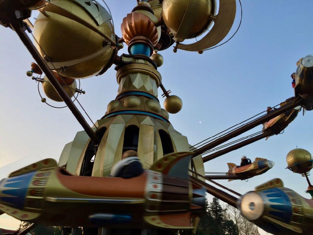 Orbitron en Discoveryland de Disneyland Paris