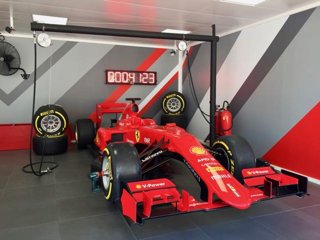 Pit Stop Record en Ferrari Land de PortAventura