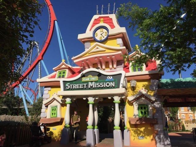 Street Mission atracción de SésamoAventura en PortAventura