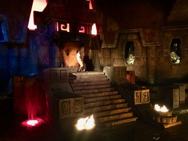 Templo del Fuego en Mexico de PortAventura
