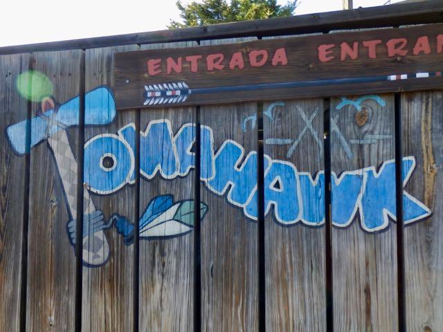Tomahawk en Far West de PortAventura