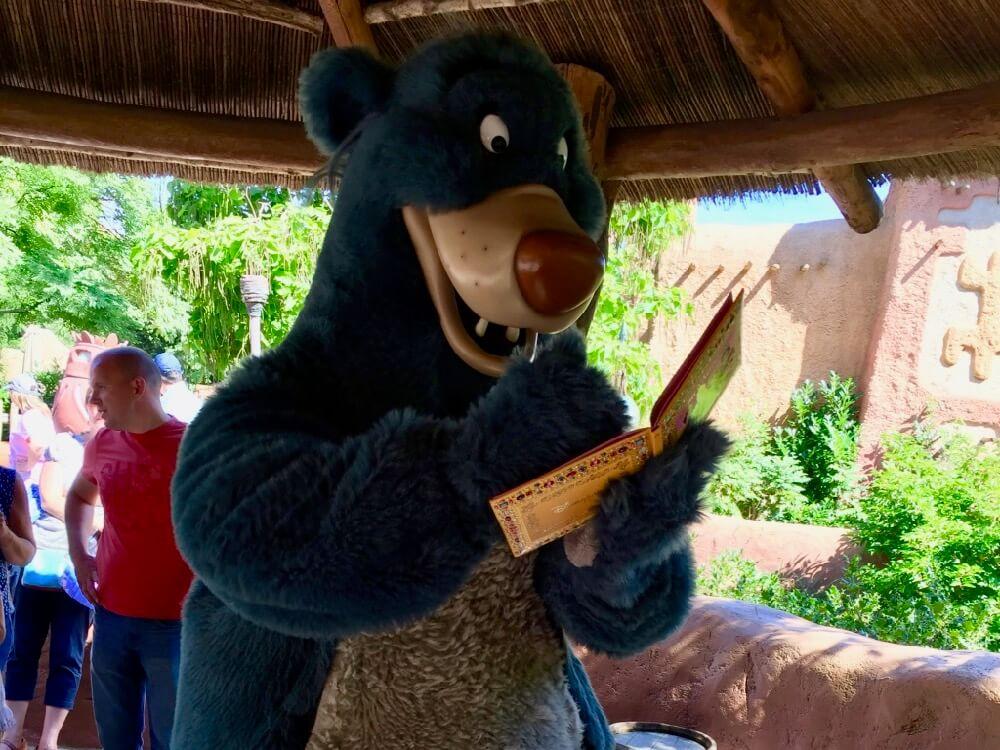 Baloo en Disneyland Paris