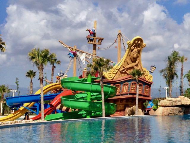 Galeón Pirata en Caribe Aquatic Park de PortAventura