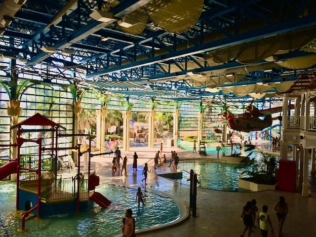 Interior de El Gran Caribe en Caribe Aquatic Park de PortAventura
