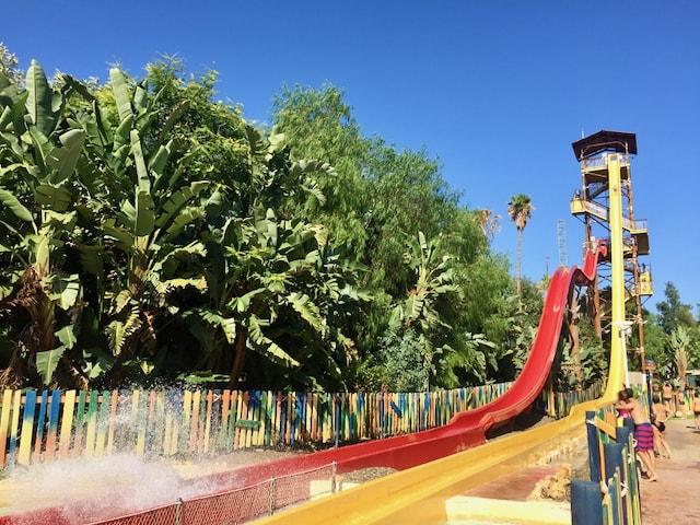 King Khajuna en Caribe Aquatic Park de PortAventura