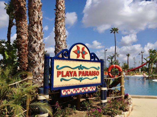 Playa Paraiso en Caribe Aquatic Park en PortAventura
