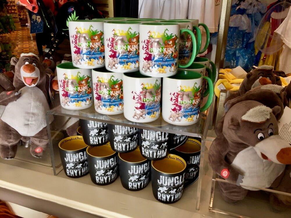 Productos temporada del Rey Leon y de la Selva en Disneyland Paris