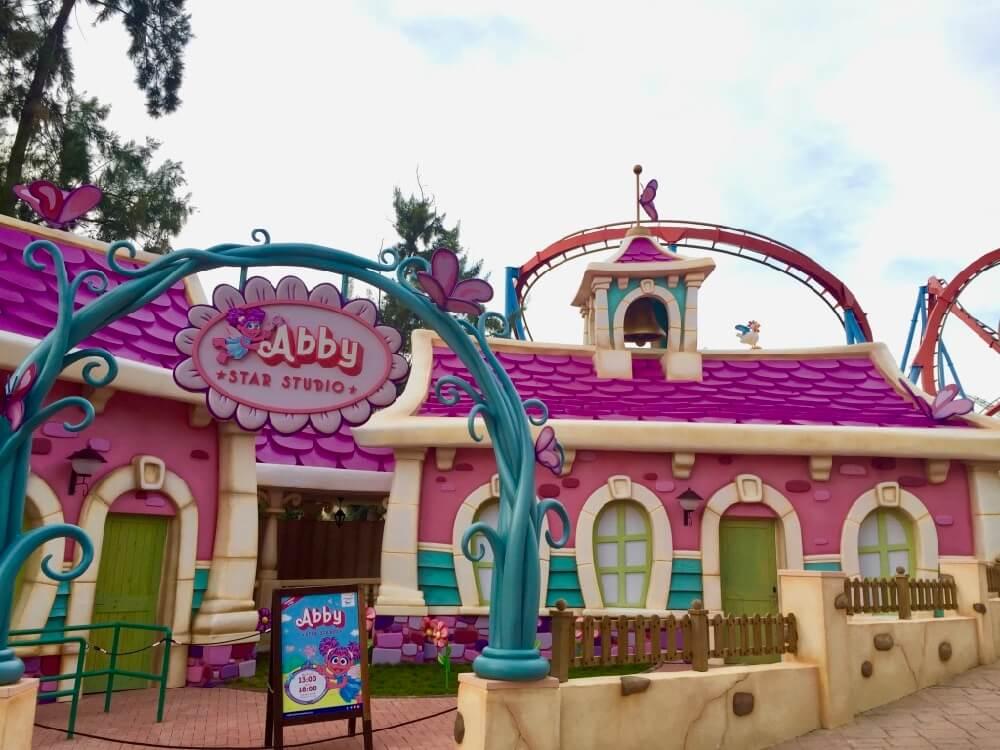 Abby Star Studio en Sesamo Aventura de PortAventura