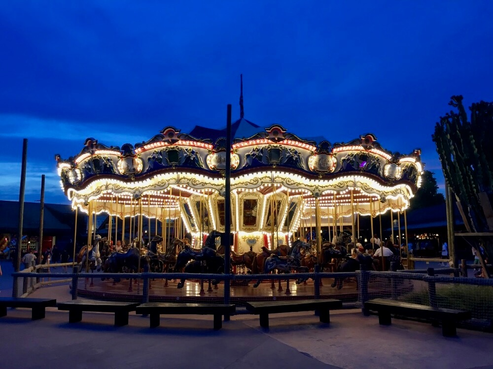Carousel de Far West en PortAventura
