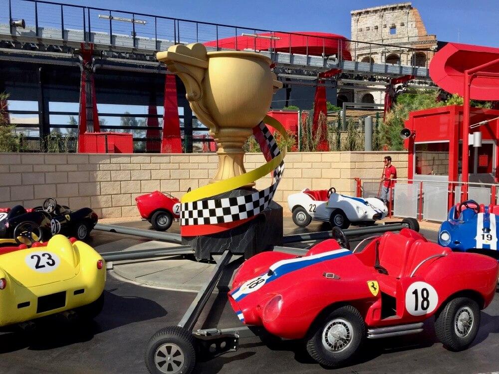 Champions Race en Ferrari Land de PortAventura World