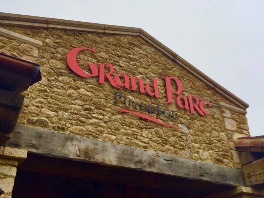 Entrada a Puy du Fou Grand Parc