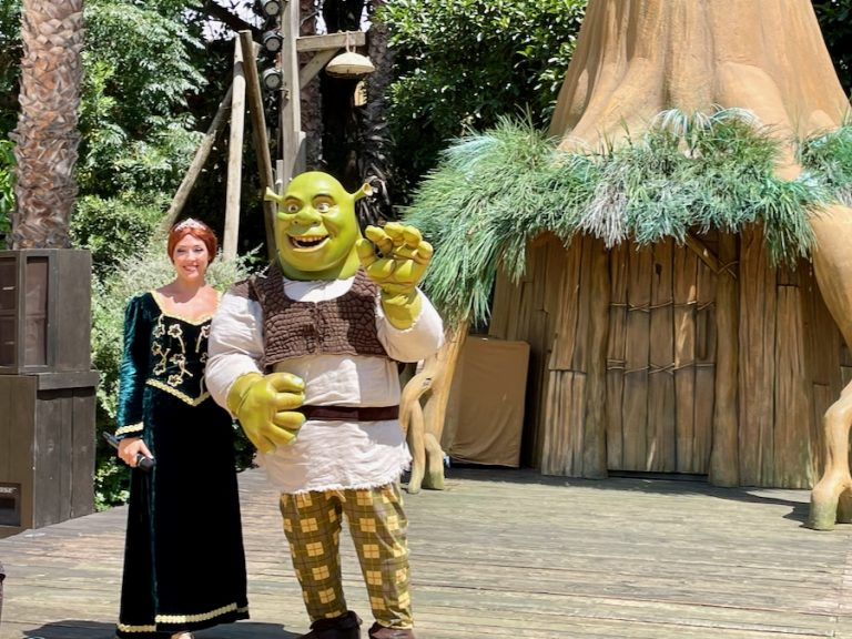 Espectáculo Shrek Meet & Greet en PortAventura 2021