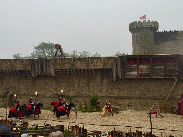 Espectaculo Le Secret de la Lance en Puy du Fou