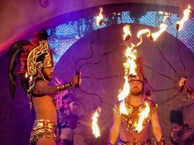 Espectaculo Rituales Mexicanos en Mexico de PortAventura