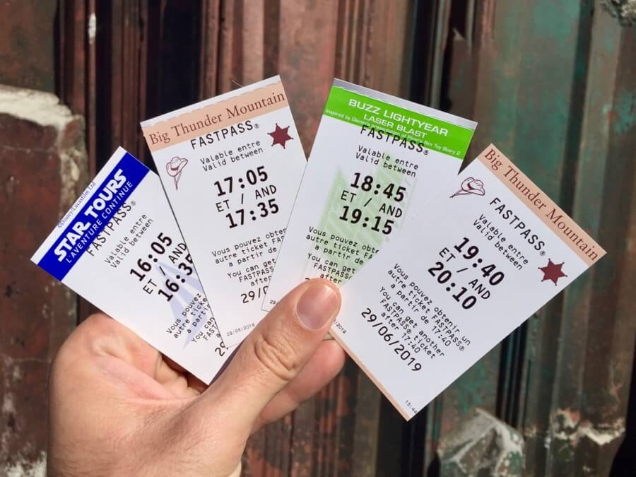 FASTPASS para Star Tours, Big Thunder Mountain y Buzz Lightyear en Disneyland Paris
