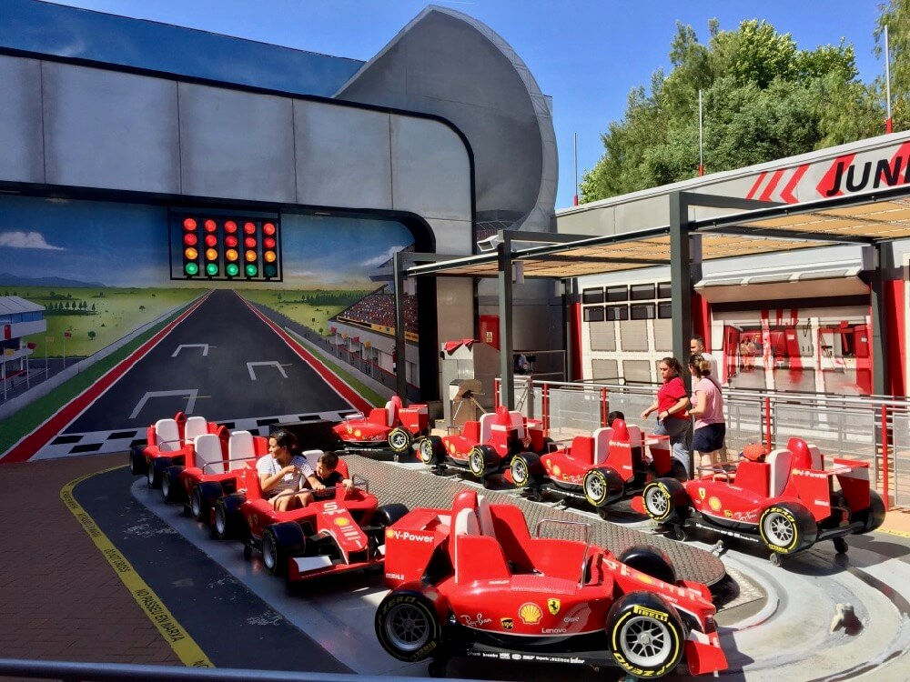 Junior Championship en Ferrari Land de PortAventura World