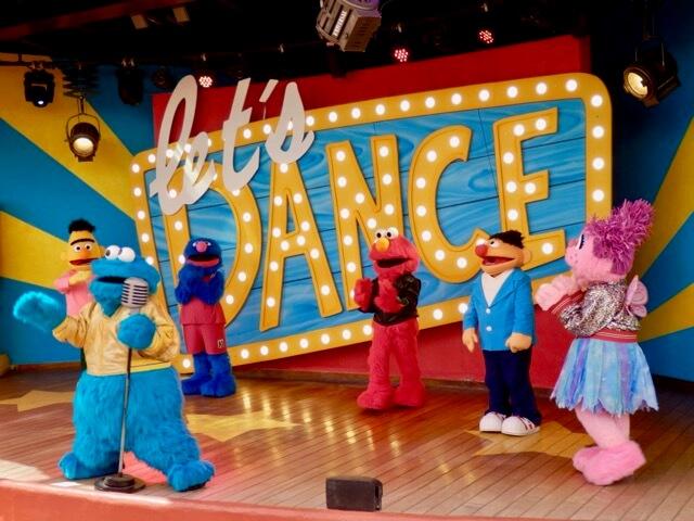 Let's Dance de Sesamo Aventura en PortAventura