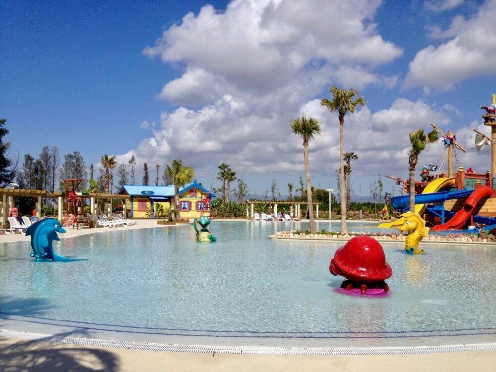 Piscina infantil Caribe Aquatic Park en PortAventura World
