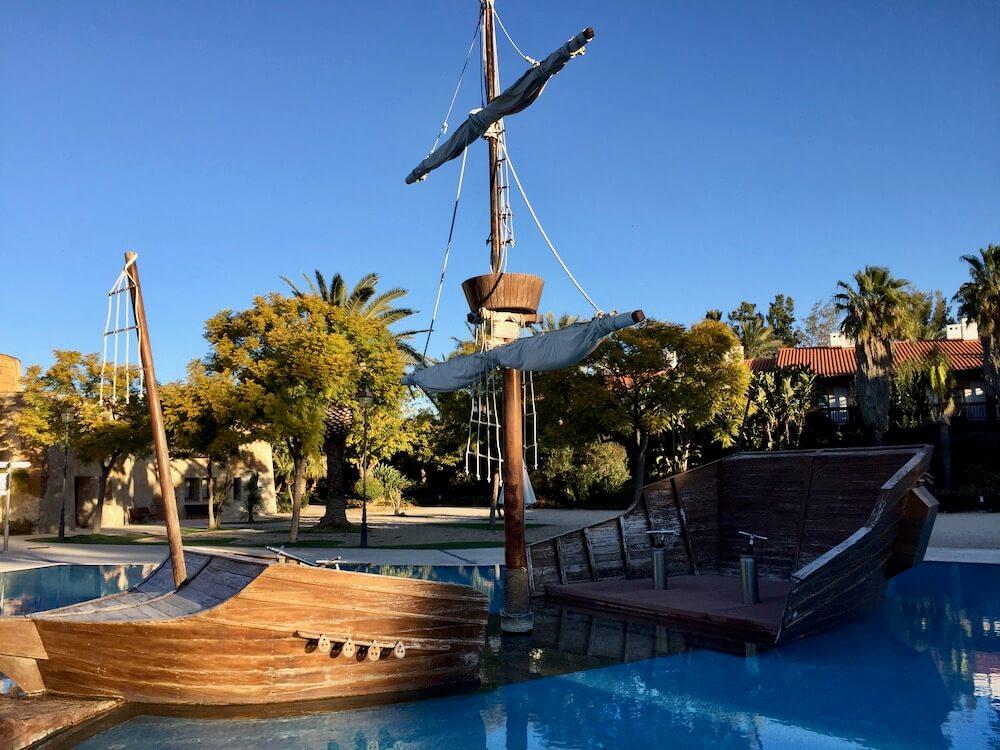 Piscina infantil en el hotel El Paso de PortAventura World