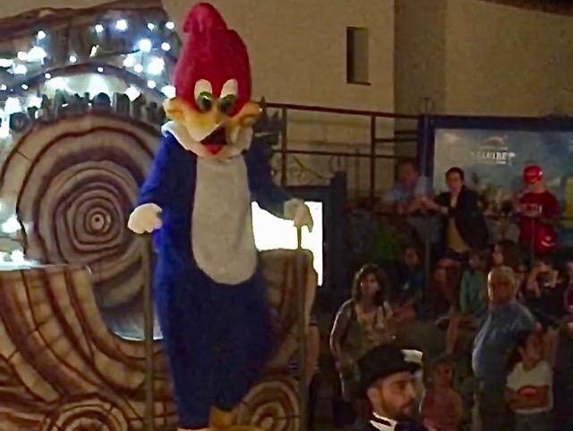 Woody en la PortAventura Parade