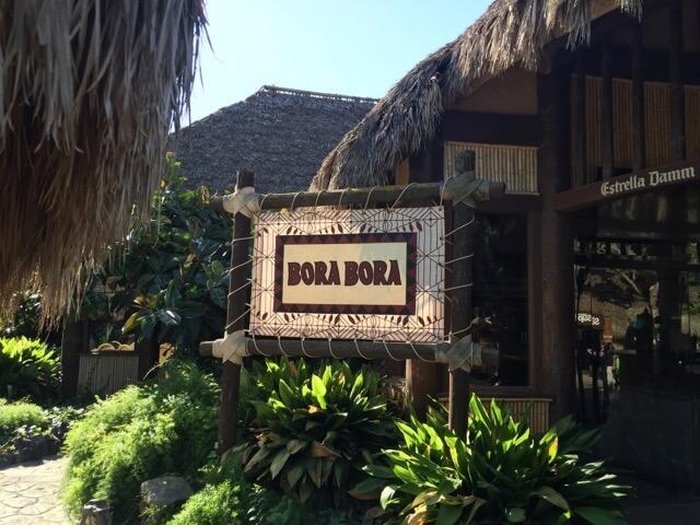 Bora Bora - Exterior del restaurante