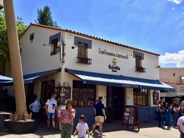 Cerveseria LEstació - Exterior del restaurante