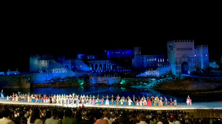 Escenario del espectaculo el Sueño de Toledo en Puy du Fou España