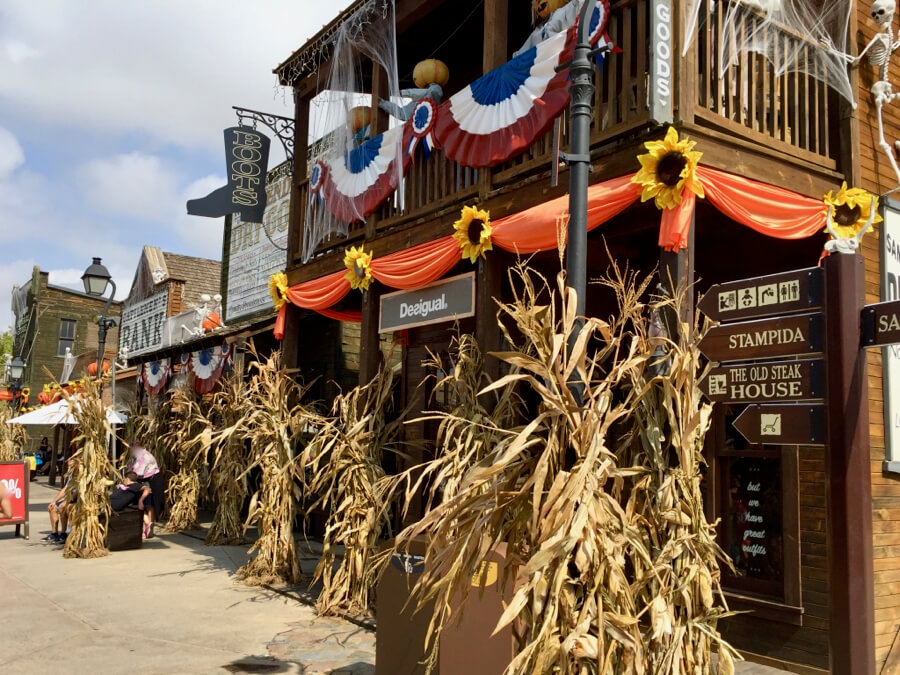 Main Street Far West Halloween