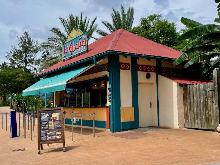 Restaurante La Cabaña de Caribe Aquatic Park en PortAventura World