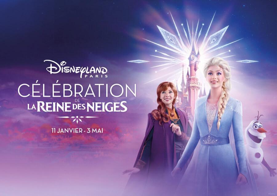 Temporada de Frozen Celebration en Disneyland Paris