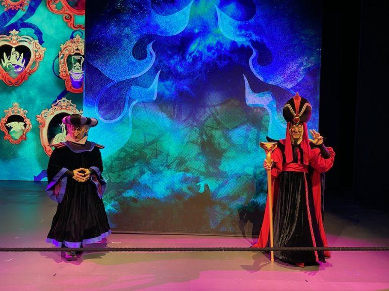 Frollo.y Jafar en el Halloween 2020 de Disneyland Paris
