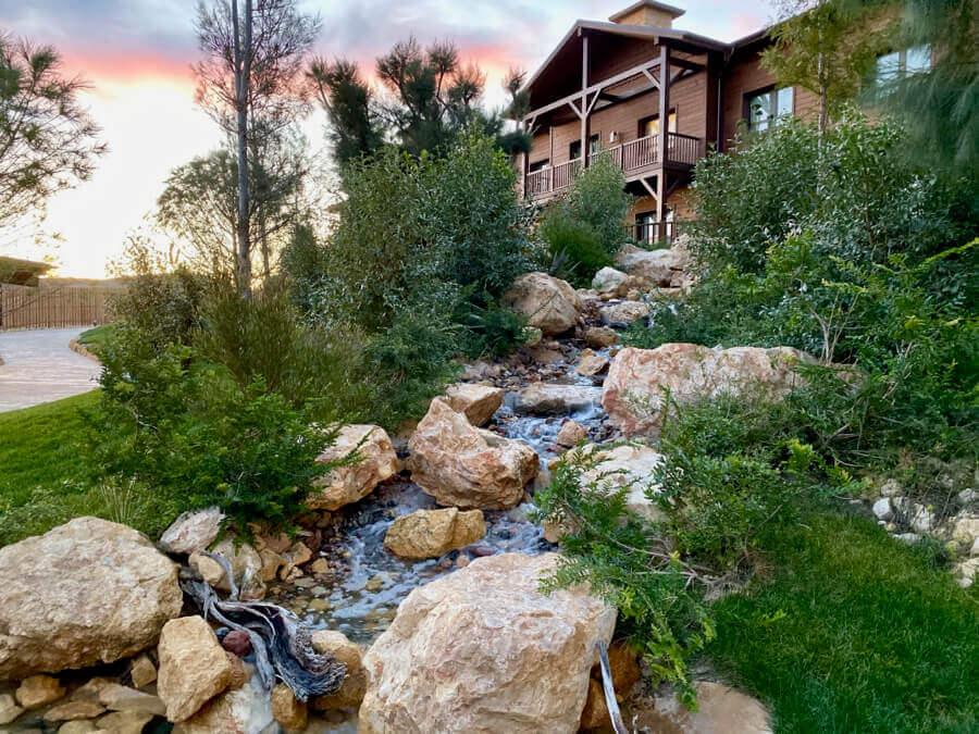 Colorado Creek Hotel - cascada
