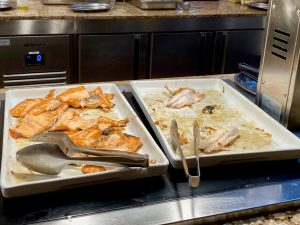 Creek View Buffet Cena - Pescado