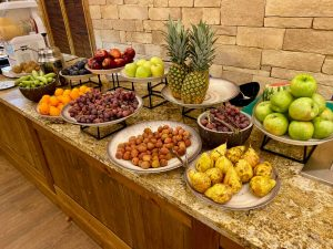 Creek View Buffet Cena - fruta 1