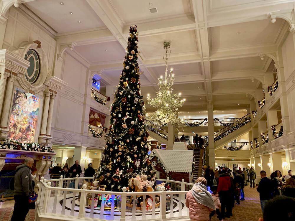 Disneyland Paris Navidad Decoraciones Hotel Disneyland