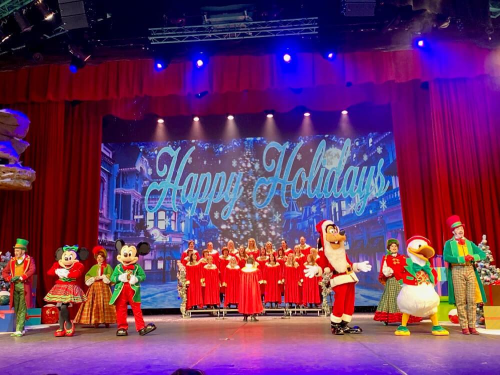 Disneyland Paris Navidad Lets Sing Christmas