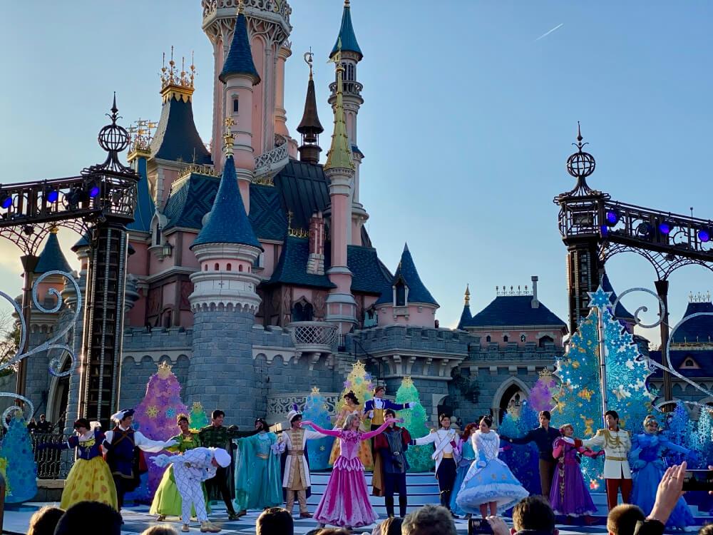 Disneyland Paris Navidad Vals Princesas