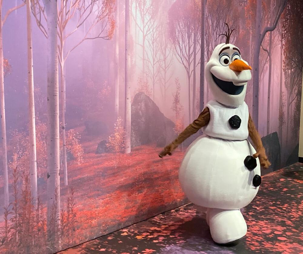 Disneyland Paris Navidad personajes Olaf