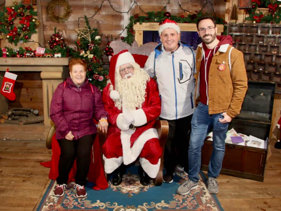 Encuentro con Papa Noel en el Bosque Encantado
