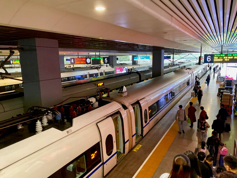 Tren de alta velocidad en Shanghai