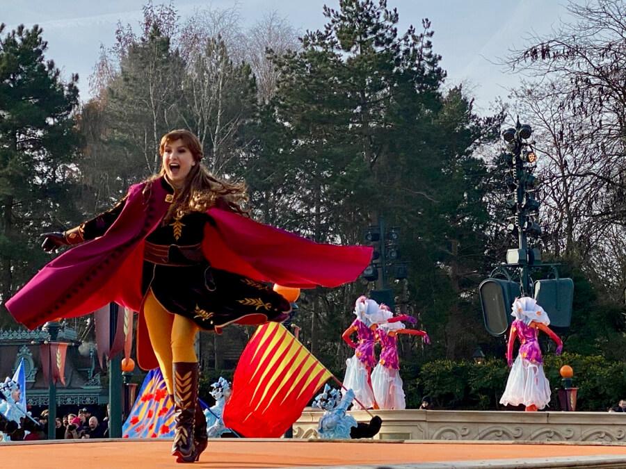 Anna en Frozen 2 an Enchanted Celebration