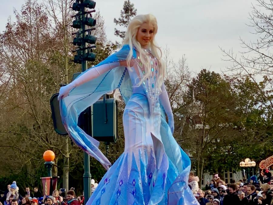 Elsa en Frozen 2 an Enchanted Celebration