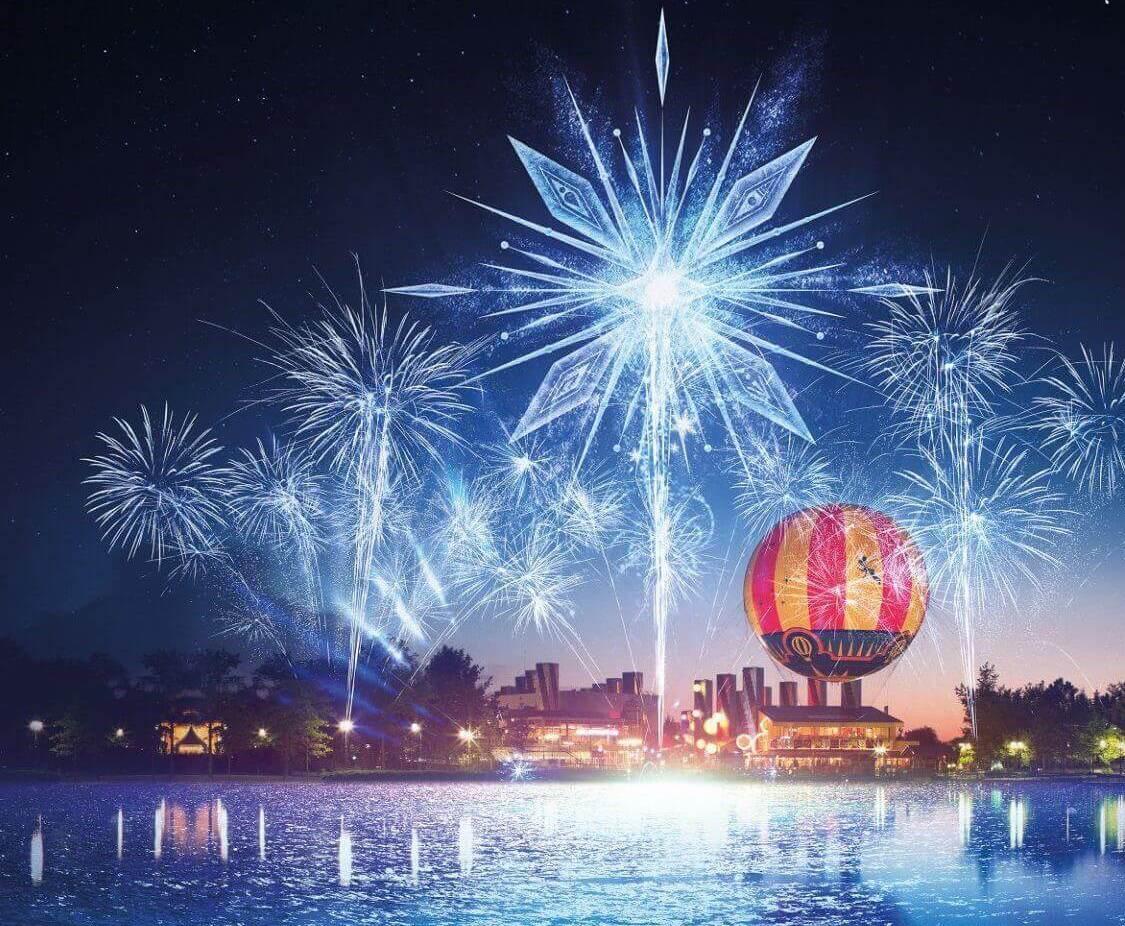Frozen Celebration - Magic Over Lake Disney